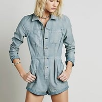 Free People Womens Mechanic Shortall