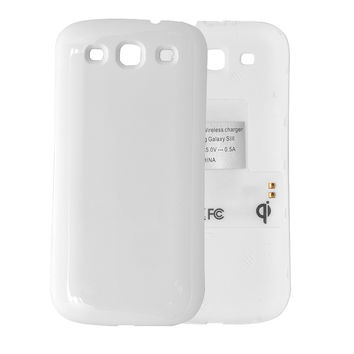 Wireless Charging Back Cover for Samsung Galaxy S3 - QI Compatible