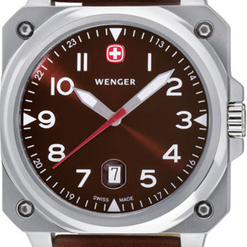 Wenger Men's Swiss Made AeroGraph Cockpit Watch 72423