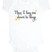 Now I Lay Me Down to Sleep baby shower gift bodysuit, baby one piece, baby girl clothes, baby boy, gift under 20, religious