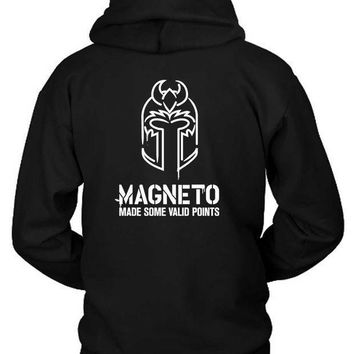 Marvel Magneto Made Some Valid Points Hoodie Two Sided