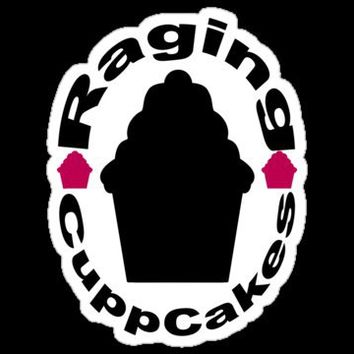 Raging CuppCakes Stickers by RagingCuppCakes | RedBubble