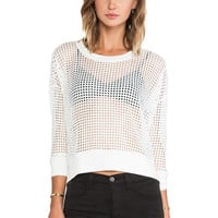 TOWNSEN Strands Top in White