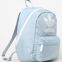 adidas Gray and White National Compact Backpack at PacSun.com