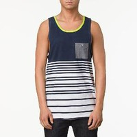 Product: Beeston Horizontal Stripe Knit Tank