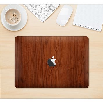 "The Rich Wood Texture Skin Kit for the 12"" Apple MacBook"