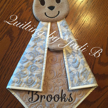 Maddy's Lovie  - Baby Deer - Security Blanket - Choice of Colors!