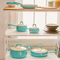 10-Piece Pop Teal Cookware Set - Urban Outfitters