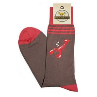 Maine Course Sporting Socks in Brown by Bird Dog Bay - FINAL SALE