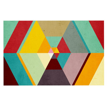 "Danny Ivan ""Color Mess"" Decorative Door Mat"