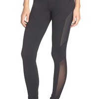 Zella | Live In Mesh Inset Leggings | Nordstrom Rack