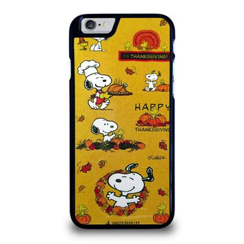 SNOOPY THE PEANUTS THANKSGIVING iPhone 6 / 6S Case