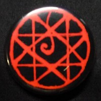 FMA Fullmetal Alchemist Bloodseal Pin Button Badge by boxinghobo