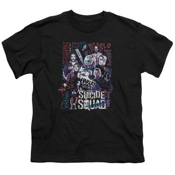 ac spbest Suicide Squad - The Squad Short Sleeve Youth 18/1