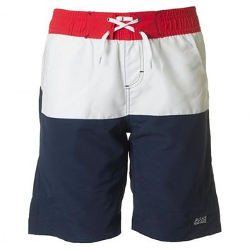 Hugo Boss Boys Tri-Color Swim Shorts