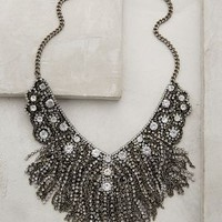 Fringed Delicacies Necklace by Anthropologie Silver One Size Necklaces