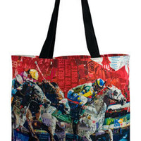 Kentucky Derby 139 Canvas Tote at KentuckyDerbyStore.com