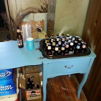 Sewing Machine Table Made into a Bar