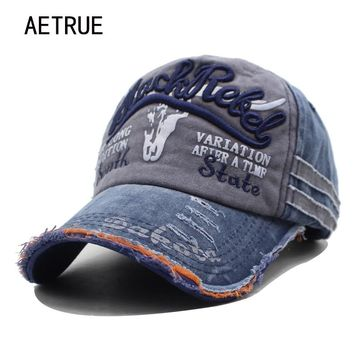 feae476af89 AETRUE Brand Men Baseball Caps Dad Casquette Women Snapback Caps