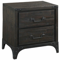 Stark Nightstand RUSTIC ANTIQUE FINISH
