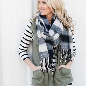 Buffalo Check Scarves | 3 colors