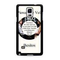 Pierce The Veil Song Lyrics Band Samsung Galaxy Note 4 Case