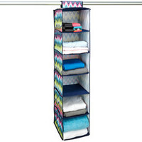 The Macbeth Collection 6-Shelf Hanging Closet Organizer - Bed Bath & Beyond
