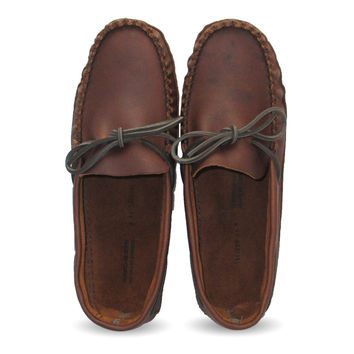 Leather Moccasins (Wide) 1461-N