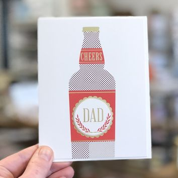 Cheers to Dad Card