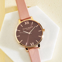 Undisputed Class Watch in Petal & Rose Gold - Big | Mod Retro Vintage Watches | ModCloth.com