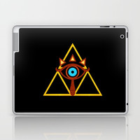 zelda triforce Laptop & iPad Skin by shankara