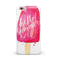 Hello Summer Popcicle iPhone 6/6s or 6/6s Plus Candy Shell Case