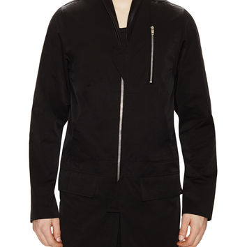 Rick Owens Men's Shawl Collar Parka -
