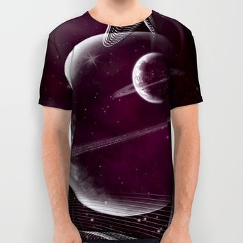 Time & Space All Over Print Shirt by DuckyB (Brandi)