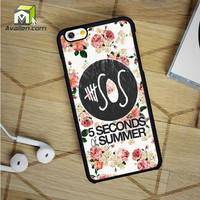 5Sos Floral Fitted iPhone 6 Case by Avallen