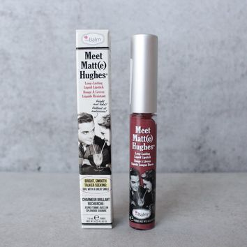 theBalm - Meet Matte Hughes Lip Color - Charming
