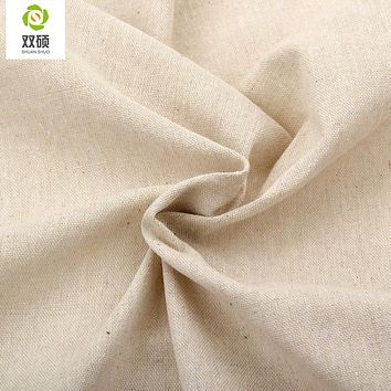 Natural Color Linen Fabric Qualities linen Cloth For Curtains, Sofa, Bags, Tablecloths  Cover 155*50CM/PCS