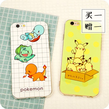 Cute Pokémon Pikachu iphone6/6plus Case