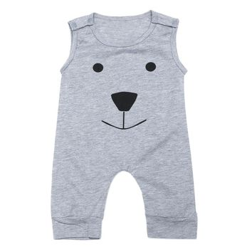 Newborn Baby Cute Romper Clothing Infant Rompers Cute Toddler Baby Girl Boy Bear Jumpers Rompers Play suit Outfits Clothes
