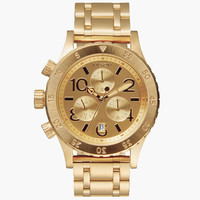 Nixon 38-20 Chrono Watch Gold One Size For Women 25567562101
