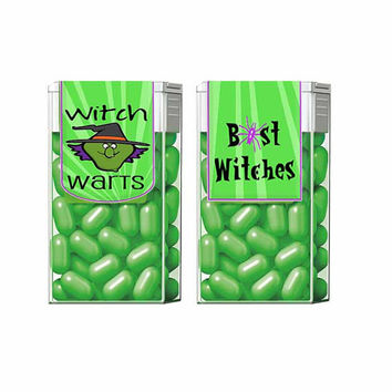 Tic Tac Label Witch Wart Halloween Treat or Favor