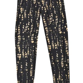 INC International Concepts Women's Tie Dye Print Jogger Pants