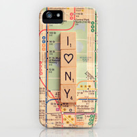 i heart new york iPhone Case by Shannonblue | Society6