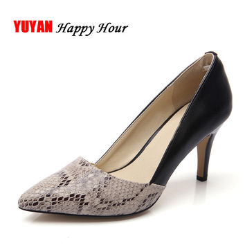 New 2017 Spring Summer High Heels Women Brand Heeled Shoes Fashion Women's Pumps Sexy Pointed toe Thin Heel ZH1658
