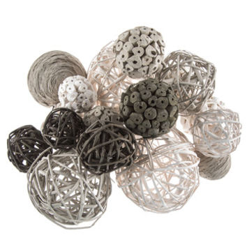 Gray & White Decorative Spheres | Hobby Lobby | 1658160