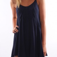 Festival Dream Dress Navy - Dresses - Shop by Product - Womens
