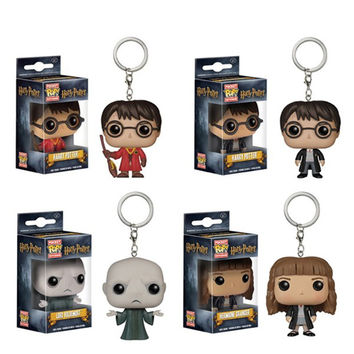 Funko Pop Game of Thrones Daenerys Targaryen Hot 2016 Vinly Figure Keychain Jon Snow Fire Dragon Harry Potter Key chain Ring Toy