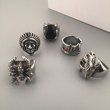 Jewelry Gift Shiny Stylish New Arrival Hot Sale Fashion Hip-hop Club Ring [6542698051]