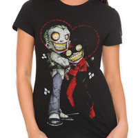 DC Comics The Joker Harley Quinn Uminga Girls T-Shirt | Hot Topic