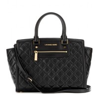 michael michael kors - selma quilted leather tote